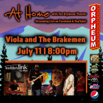At Home with The Orpheum Theater: Viola and The Brakemen