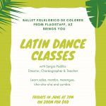 Zoom Latin Dance Classes with Ballet Folklórico de Colores