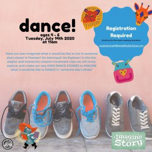 Free Live Online DANCE Class | Ages 4-6