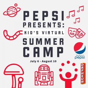 Pepsi presents: Kid's Virtual Summer Camp