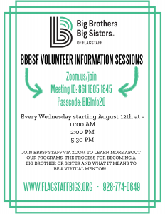 BBBSF Virtual Volunteer Info Sessions