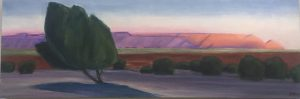 Art Show by Gwendolyn Waring: landscapes of Lees F...