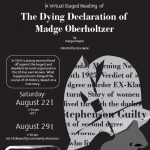 Virtual Staged Reading--Dying Declaration of Madge Oberholtzer
