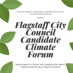 Flagstaff City Council Candidate Climate Forum