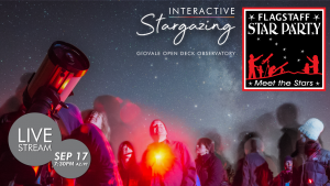 Streaming   Flagstaff Star Party & Interactive Stargazing