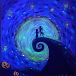 Halloween Night Glow-in-the-Dark Painting Class