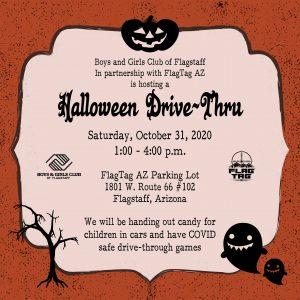 Halloween Drive-Thru For Kids