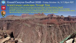"Grand Canyon GEOFEST ""Grand Canyon Landscapes Through Time."""