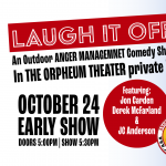 Laugh It off: An Outdoor Comedy Show - Early Show