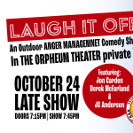 Laugh It off: An Outdoor Comedy Show - Late Show