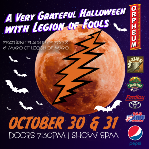 A Very Grateful Halloween Eve with Legions of Fool...