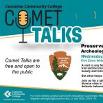 "CCC Comet Talk - Preserve & Protect: ""Archeology's Role in National Parks"""