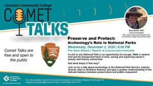 "CCC Comet Talk - Preserve & Protect: ""Archeo..."
