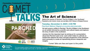 CCC Comet Talk: The Art of Science