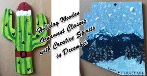 Holiday Ornament Painting at Creative Spirits