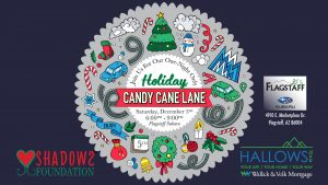 Holiday Candy Cane Lane Drive Thru Light Display