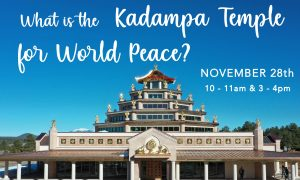 In Person: What is Kadampa Temple for World Peace?...