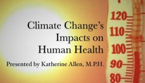Climate Change's Impacts on Human Health