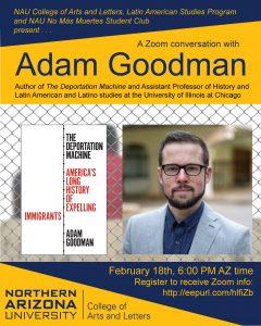 Virtual Lecture, Adam Goodman: The Deportation Machine