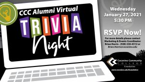CCC Alumni Virtual Trivia Night