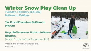 Winter Snow Play Clean Up