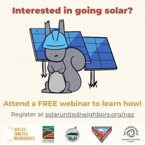 Northern Arizona Solar Co-op Informational Webinar...