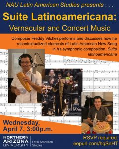 Suite Latinoamericana: Vernacular and Concert Music