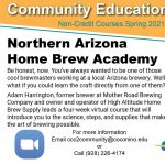 CCC Northern Arizona Home Brew Academy