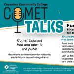 "CCC Comet Talk: ""Funding Our Future"" Financial Wellness for Millennials, Gen Z & Beyond"