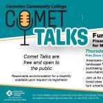 """CCC Comet Talk: """"Funding Our Future"""" Financial Wellness for Millennials, Gen Z & Beyond"""