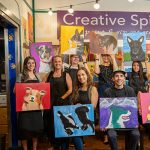 March 2021 Pet Portraits class at Creative Spirits