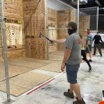 Axe Throwing League Night