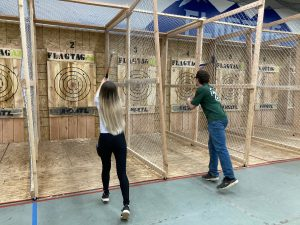 Valentine's Day Axe Throwing For Two
