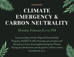 Flagstaff Climate Emergency