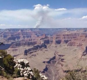 Fire on the Rim (and Inside Grand Canyon)