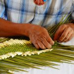 Yucca Weaving Demonstration