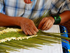 Yucca Weaving Demonstration
