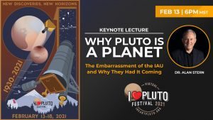 I♥ Pluto Festival 2021 | Why Pluto Is a Planet