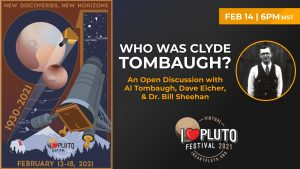 I♥ Pluto Festival 2021 | Who was Clyde Tombaugh?