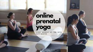 Online Prenatal Yoga