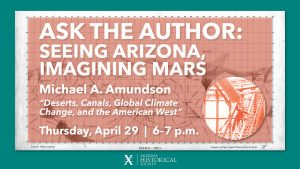 Ask the Author: Seeing Arizona, Imagining Mars