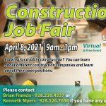 Virtual Construction Job Fair Hosted by CCC & NABA