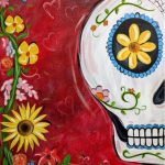 Cinco de Mayo Celebration Painting Class - Sugar Skull