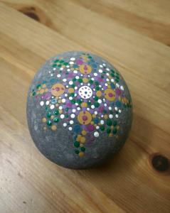 Special $15 Mandala Rock Painting Class at Creativ...