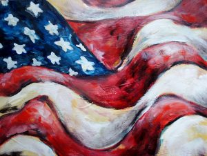 Memorial Day Flag Paint Class (This class is not BYOB since it is before 4 pm)
