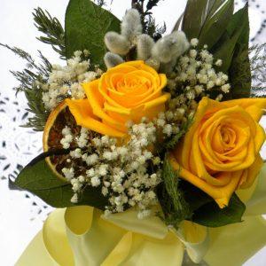 Floral arrangement class at Creative Spirits