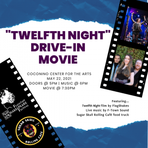Twelfth Night Drive-in Movie & Music!