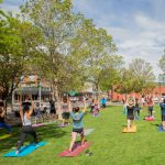 "Yoga on the Lawn ""Physical Distancing Style"""