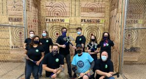 Axe Throwing Marathon League
