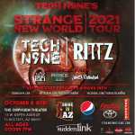 Tech N9ne's Strange New World: 2021 Tour